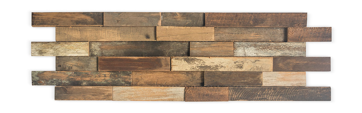Teak Skinwood Wall Panel